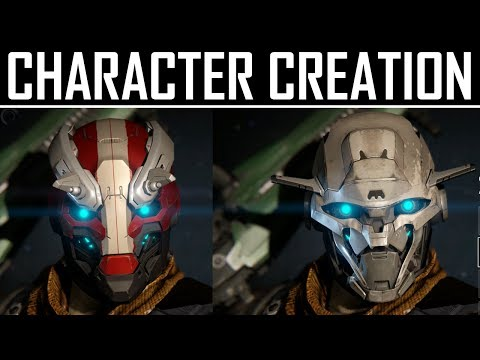 character - Destiny's Character Customization menu. Create your ideal Guardian by choosing Race, Gender, Face Type, Class and Markings. FOLLOW ME ON TWITTER: https://twi...