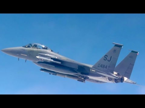 F-16 fighter jets participate in...