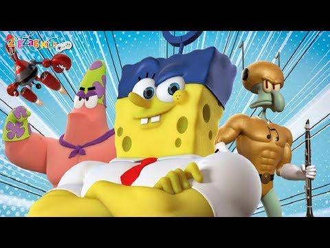 SpongeBob   HeroPants   Full Movie Game   Bob Esponja   ZigZag HD