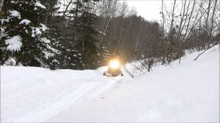 9. Test Riding the  2013 Polaris 600 Pro R Switchback