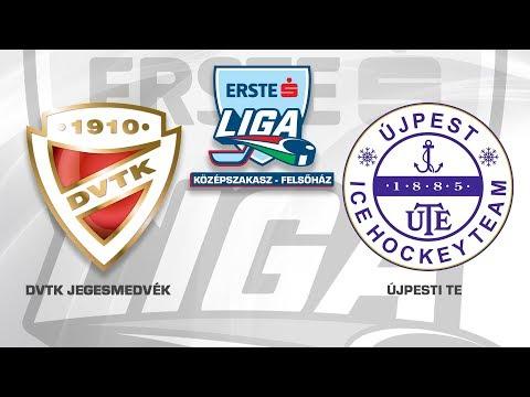 Erste Liga 162: DVTK Jegesmedvék - Újpesti TE 6-2