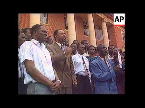 Zambia - Kaunda appears in court