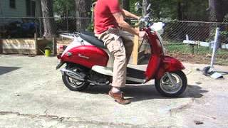 9. Easy to start scooter, great shape, only 1000 miles.