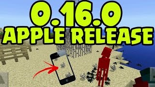 MCPE 0.16.0 UPDATE! iOS, iPhone, iPad Minecraft Pocket Edition 0.16.0 ADDON Update RELEASE NEWS!