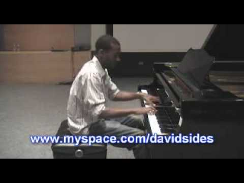 Coldplay - Clocks on piano By David Sides