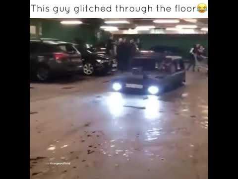 Car Glitches Through The Floor