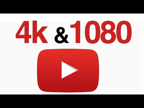 How To Upload 4K And 1080p Videos On YouTube