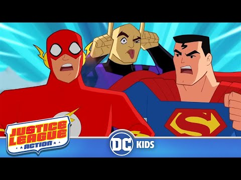 Justice League Action | Speed Demons | DC Kids