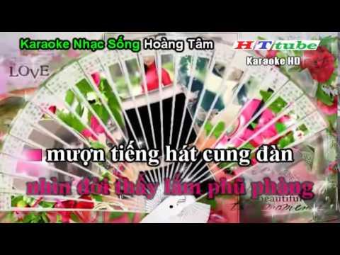 Giọt Lệ Đài Trang Remix HD - Karaoke Nhạc Sống