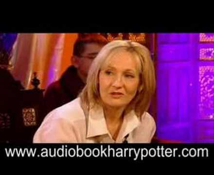 J.K. Rowling Deathly Hallows Q&A Interview
