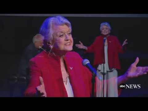 "91-year-old Angela Lansbury sings ""Beauty and the Beast"" 25 years later and sounds exactly the same."