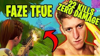 Faze Tfue 22 KILLS WITHOUT TAKING DAMAGE! | Fortnite Funny Moments and more | Fortnite Ninja