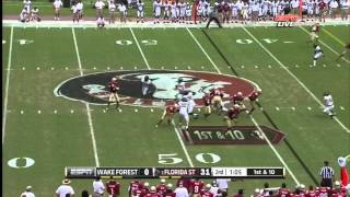EJ Manuel vs Wake Forest (2012)