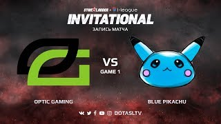 OpTic Gaming против Blue Pikachu, Первая карта, SL i-League Invitational S4 NA Квалификация