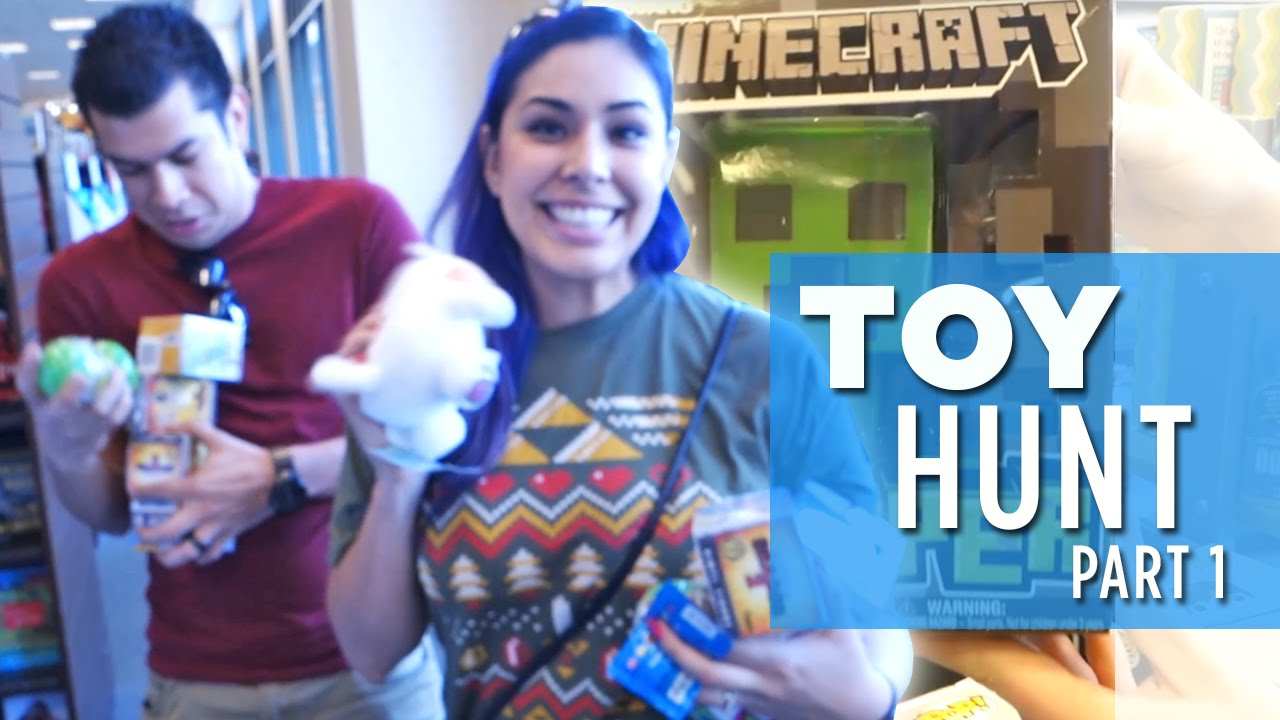 TOY HUNT! Minecraft, Funko, Unicorno, Kidrobot & MOAR!