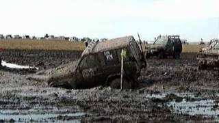 Грязь, грязь, грязь.  Ужасная грязь.