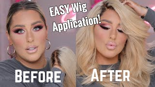 EASY- HOW TO APPLY  LACE WIGS TUTORIAL- CHRISSPY by Chrisspy
