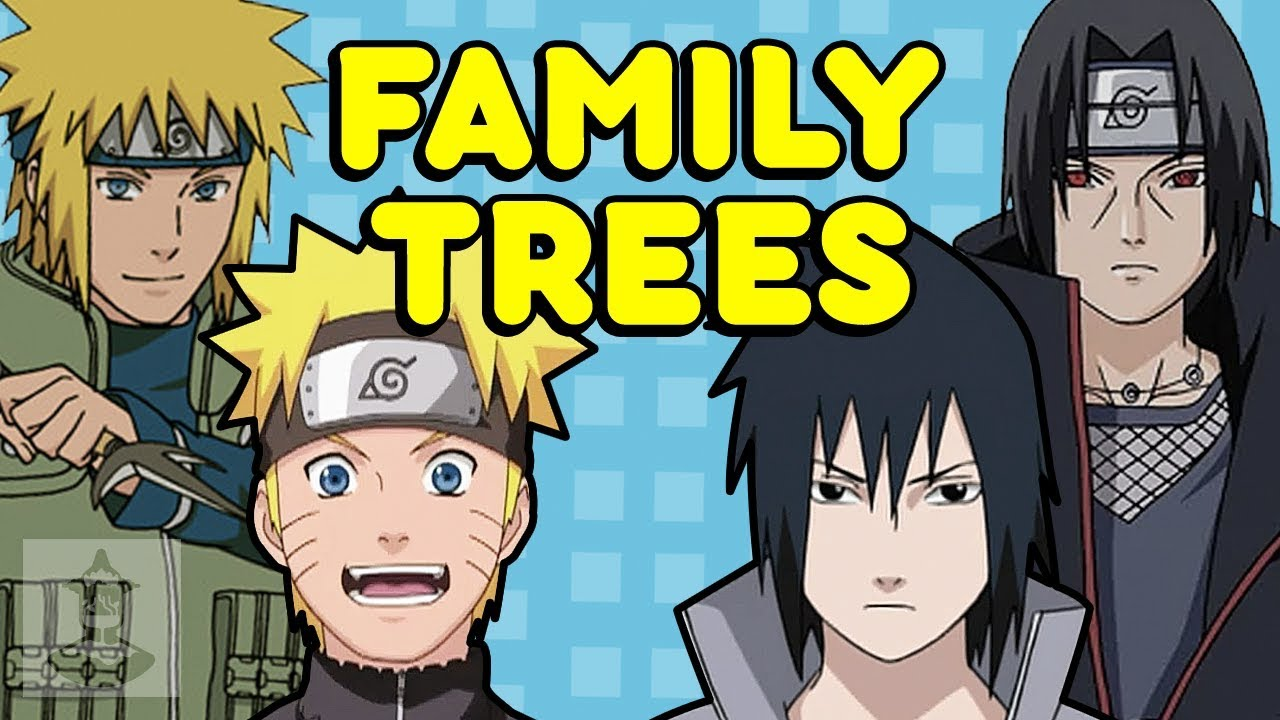Picture of The Naruto Family members Tree  Uzumaki  Uchiha Clans  Receive Within just The Robotic