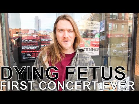 Dying Fetus - FIRST CONCERT EVER Ep. 14