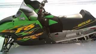 4. LOT 1512A 2004 Arctic Cat Sno Pro Firecat 600 F6 Carb Tear down