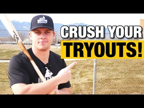 DON'T GO TO BASEBALL TRYOUTS Until You WATCH THIS!!