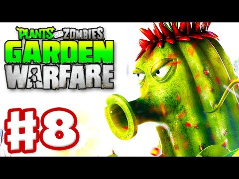 Plants Vs Zombies Garden Warfare Walkthrough Plants Vs Zombies Garden Warfare Part 4 All