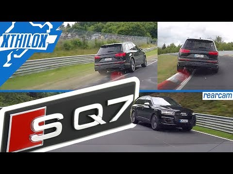 Audi SQ7..my next everyday car!? 2,3 Tons of FUN :-D - Nürburgring Nordschleife