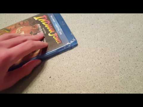 Raiders Of The Lost Ark (1981) Blu Ray Digital HD Unboxing And Short Review