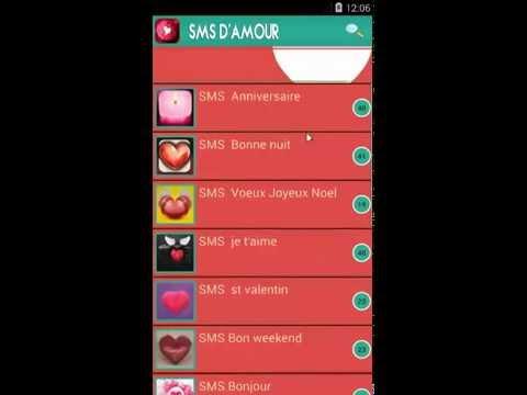 comment declarer son amour par sms
