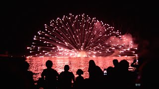 Kurobe Japan  city photo : Fireworks in Kurobe, Japan, July 25, 2015