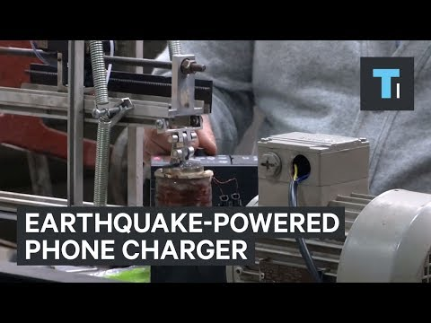 Charge Your Phone with the Power of the Earth