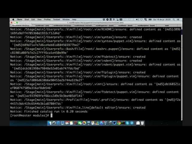 Parte 1 – Configuração do Ambiente – Módulos Puppet para Elasticsearch, Logstash e Kibana