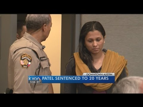 Patel sentenced to 20 years in husband's bathtub burning death