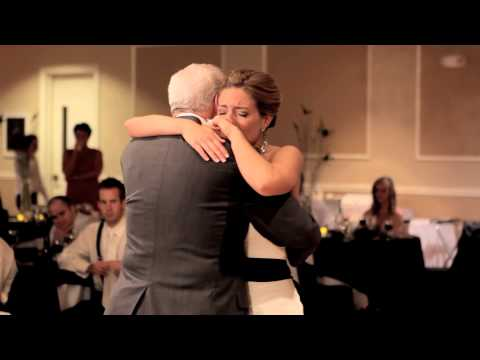 bride - Andrea had a very special dance with some very close family and friends at her wedding. Her father passed away so her brother recored