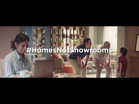 Asian Paints-#HomesNotShowrooms