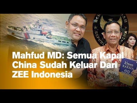 Mahfud MD: Semua Kapal China Sudah Keluar Dari ZEE Indonesia