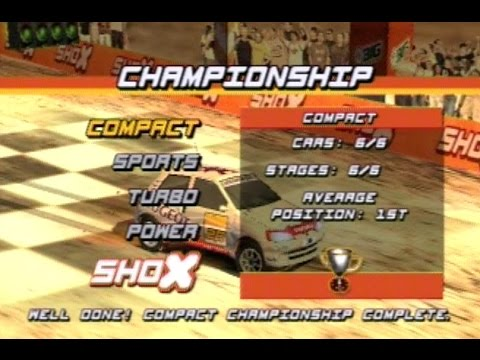 Shox : Extreme Rally Playstation 2