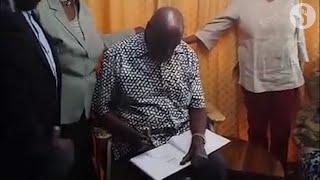 Retired President Daniel arap Moi mourned the death of William ole Ntimama describing him as a