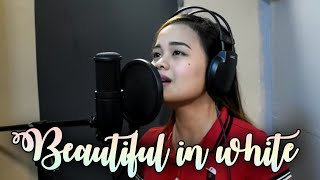 Video BEAUTIFUL IN WHITE  (Female version) Cover by Carmela Estrella MP3, 3GP, MP4, WEBM, AVI, FLV Maret 2018