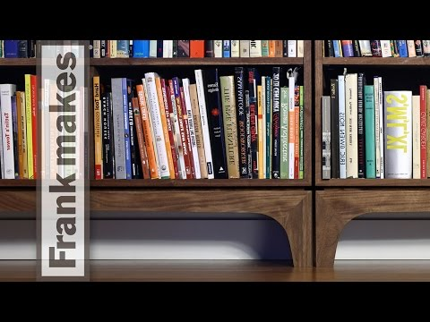 TimelapseMaking Of a Bookshelf