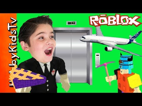 Roblox with HobbyPig and HobbyDad (видео)
