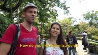 Travelers' Voice of Kyoto: KIYOMIZU DERA Area Interview013 Autumn03