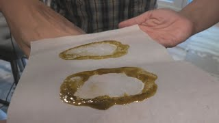 Rosin Press Hash Wednesday by Urban Grower