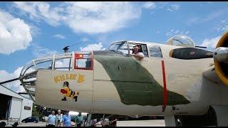 After 70 years, World War II Pilot Flies the B-25 again!