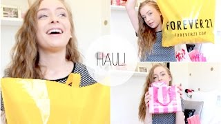 Haul! ♡ Forever 21, H&M, Victorias Secret and more!