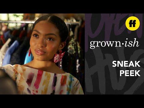 grown-ish Season 3, Episode 6 | Sneak Peek: Aaron Wants to Work With Dre | Freeform
