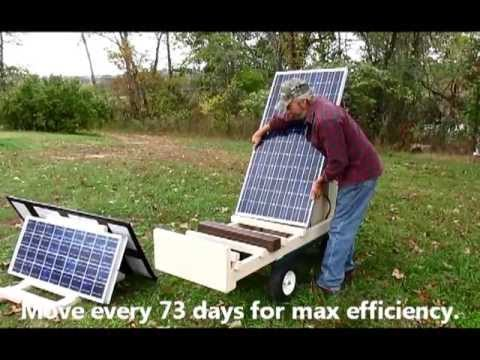 Solar Power, DIY Solar Generator Cart