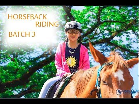 [Learning English] English Academy in Cebu, Philippines:  Horseback Riding Batch 3