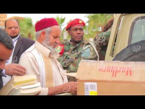 حملة لتوزيع الكتب وثقافة القراءة في بنغازي