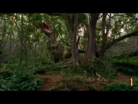 Youtube Tyrannosaurus Azteca Aztec Rex: Death Scene...